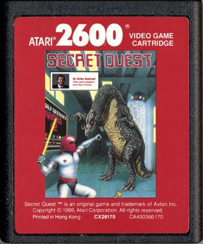Secret Quest - Cartridge Scan