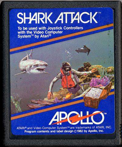 Shark Attack - Cartridge Scan