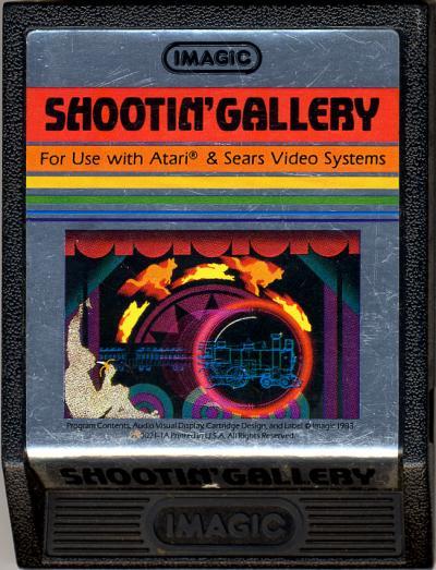 Shootin' Gallery - Cartridge Scan