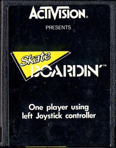 Skate Boardin' - Cartridge Scan