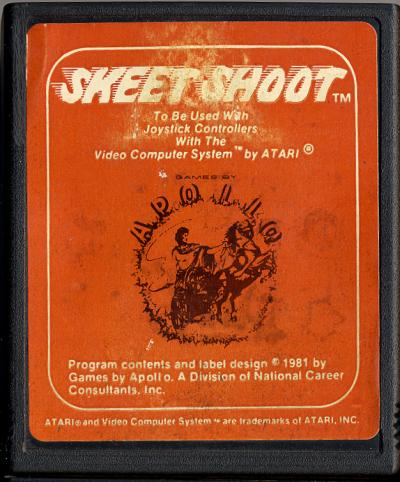 Skeet Shoot - Cartridge Scan