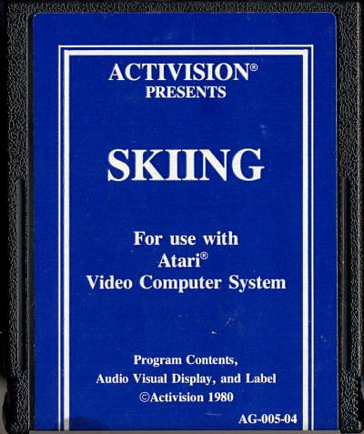 Skiing - Cartridge Scan