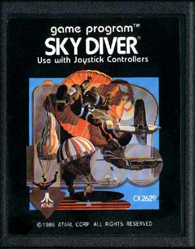 Sky Diver - Cartridge Scan