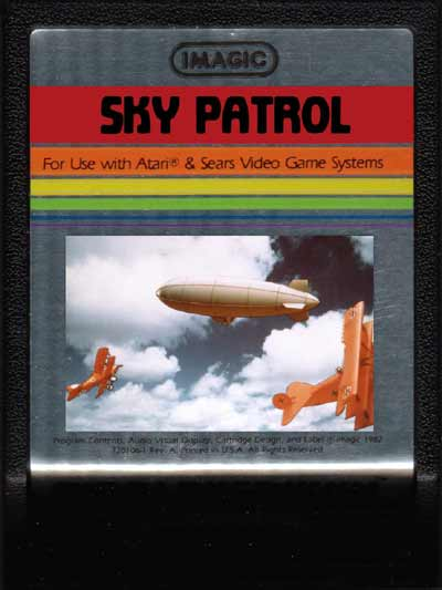 Sky Patrol - Cartridge Scan