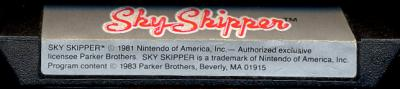 Sky Skipper - Cartridge Scan