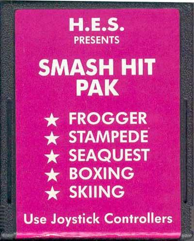 Smash Hit Pak - Cartridge Scan