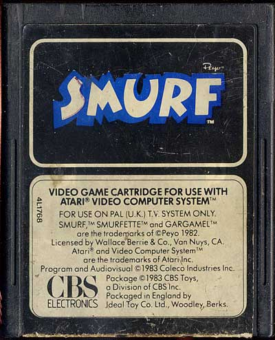 Smurf - Cartridge Scan