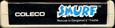 Smurfs: Rescue in Gargamel's Castle - Cartridge Scan