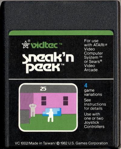 Sneak n' Peek - Cartridge Scan