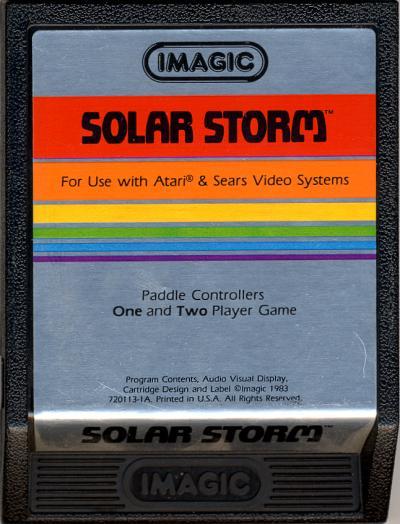 Solar Storm - Cartridge Scan