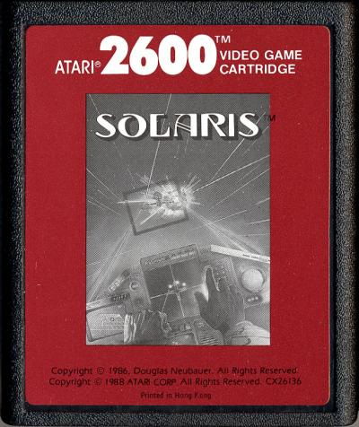 Solaris - Cartridge Scan