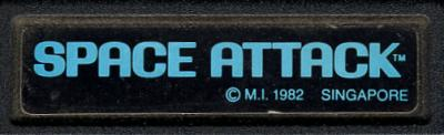 Space Attack - Cartridge Scan