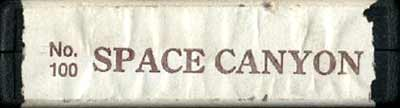 Space Canyon - Cartridge Scan