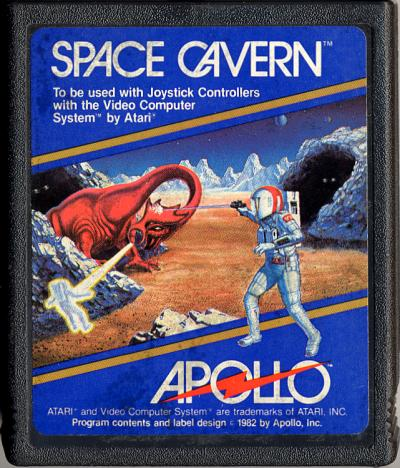 Space Cavern - Cartridge Scan