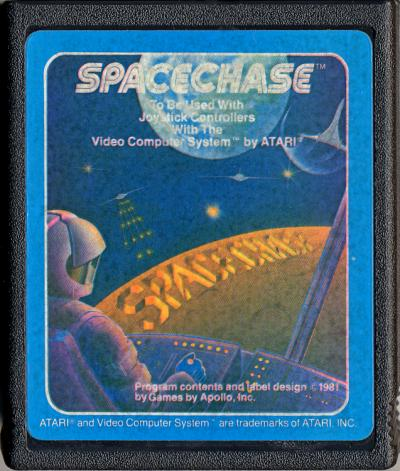 Spacechase - Cartridge Scan