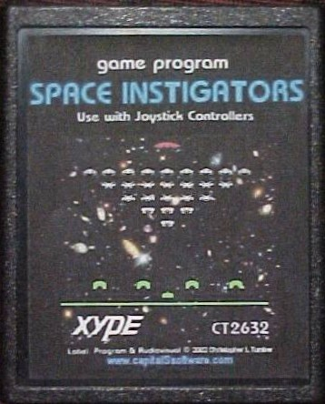 Space Instigators - Cartridge Scan