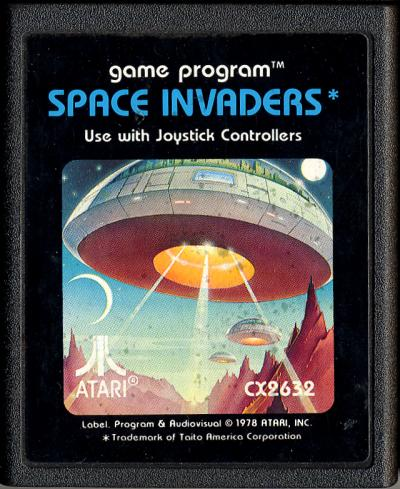 Space Invaders - Cartridge Scan