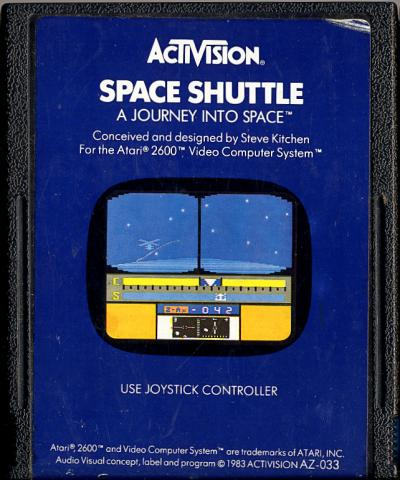 Space Shuttle - Cartridge Scan
