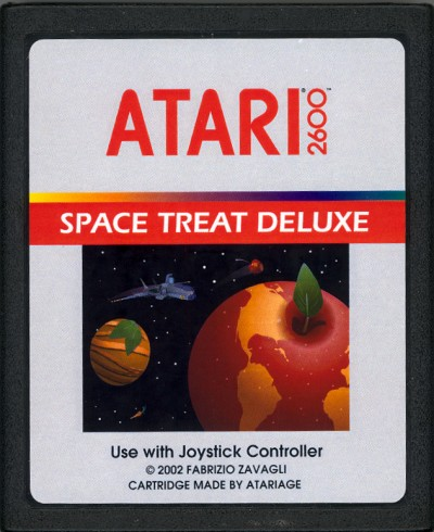 Space Treat Deluxe - Cartridge Scan
