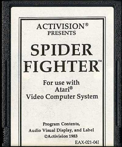 Spider Fighter - Cartridge Scan