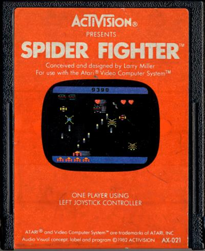 Spider Fighter - Cartridge Scan