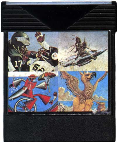 Spider Man - Cartridge Scan