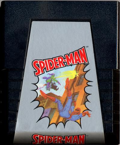 Spider-Man - Cartridge Scan