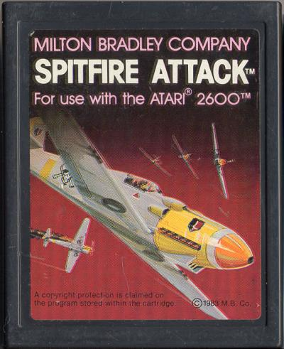 Spitfire Attack - Cartridge Scan