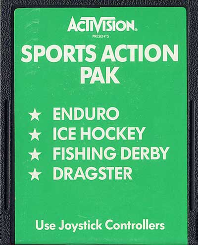 Sports Action Pak - Cartridge Scan