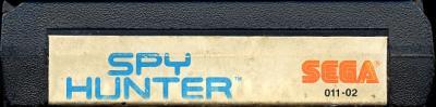 Spy Hunter - Cartridge Scan