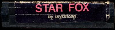Star Fox - Cartridge Scan