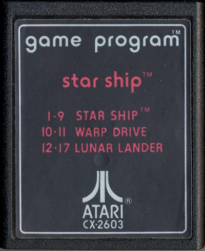 Star Ship - Cartridge Scan