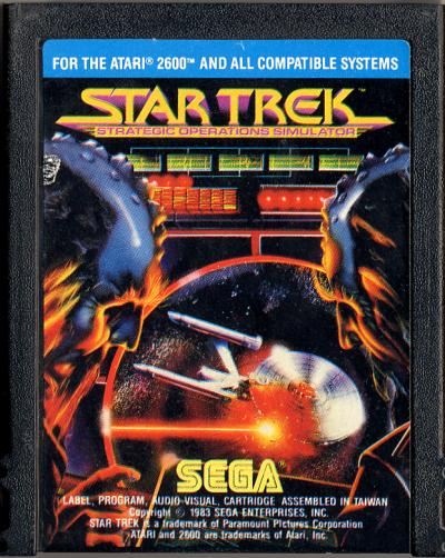 Star Trek: Strategic Operations Simulator - Cartridge Scan