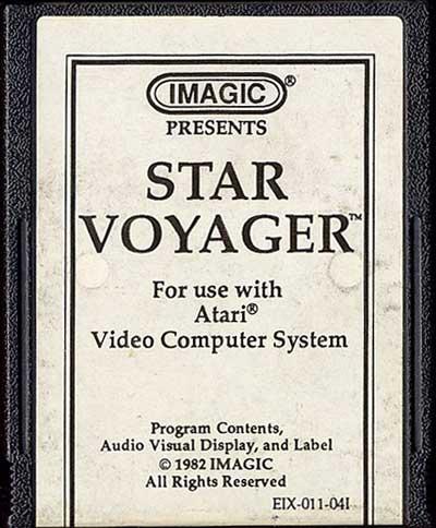 Star Voyager - Cartridge Scan