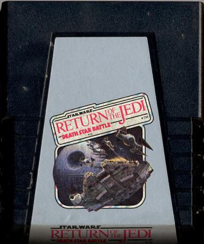 Star Wars: Death Star Battle - Cartridge Scan