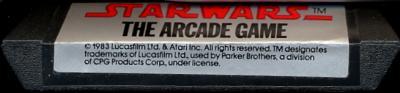 Star Wars: The Arcade Game - Cartridge Scan