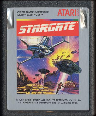 Stargate - Cartridge Scan