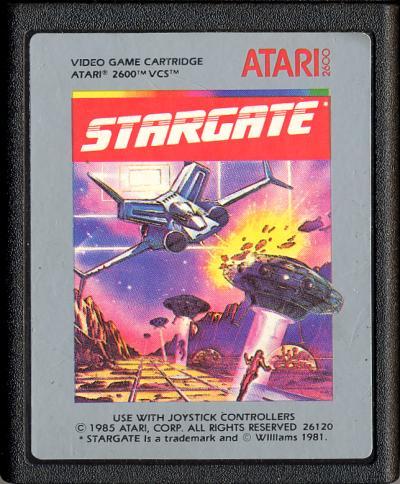 Stargate - Cartridge Scan