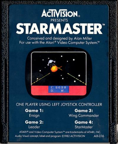 Starmaster - Cartridge Scan