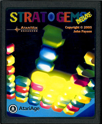 Strat-O-Gems Deluxe - Cartridge Scan