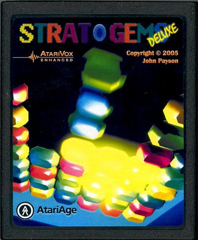 Strat-O-Gems Deluxe - Cartridge Scan