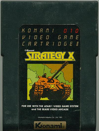 Strategy X - Cartridge Scan