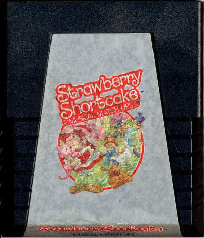 Strawberry Shortcake Musical Matchups - Cartridge Scan