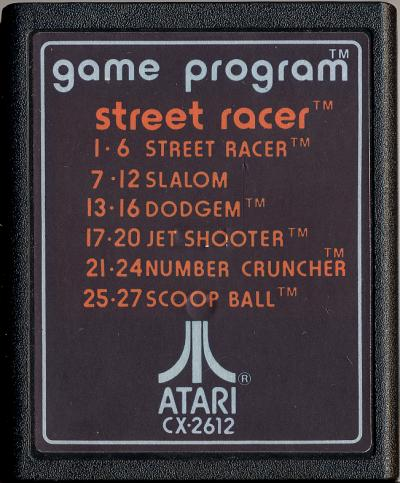 Street Racer - Cartridge Scan