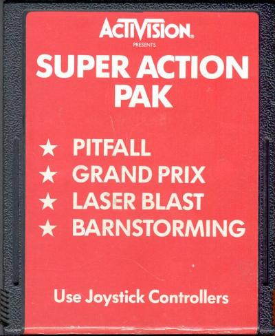 Super Action Pak - Cartridge Scan