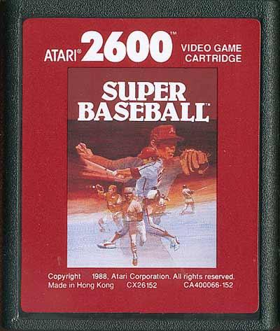 Super Baseball - Cartridge Scan