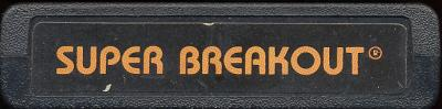 Super Breakout - Cartridge Scan