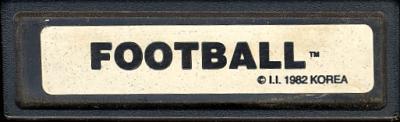 Super Challenge Football - Cartridge Scan