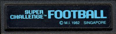Super Challenge Football - Cartridge Scan