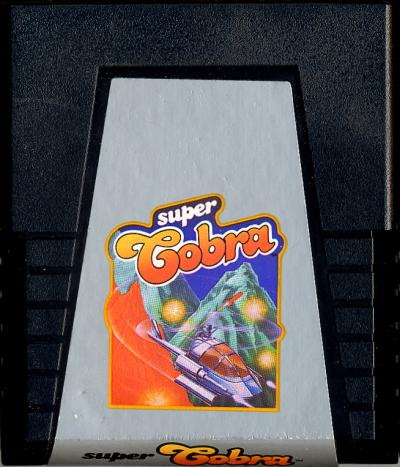 Super Cobra - Cartridge Scan
